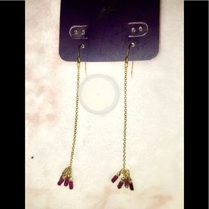 2 pairs Dangling earrings (h&m)